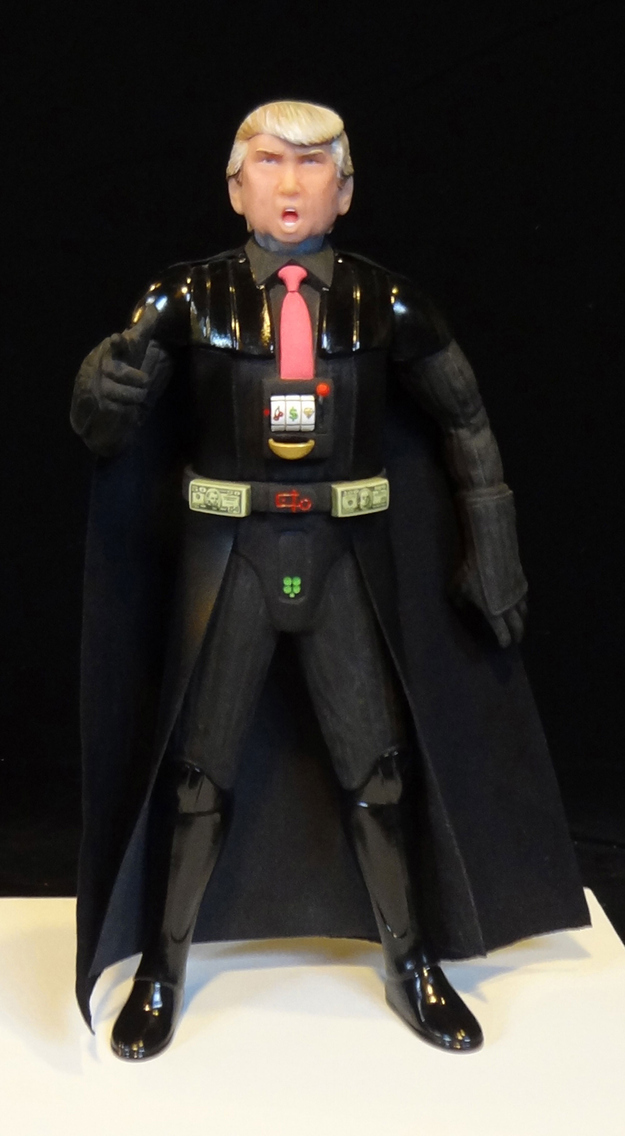 Donald Trump as Darth Vader