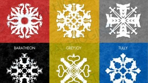 Game of Thrones Snowflakes 1