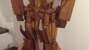 Gingerbread Optimus Prime - Transformers 01