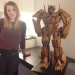 Gingerbread Optimus Prime – Transformers 02