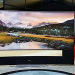 HDTV Quality LG Curved Display CES 2014