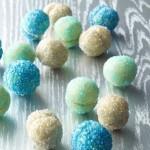 Hanukkah Glitter Ball Cookies