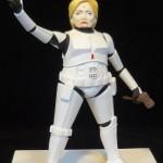 Hillary Clinton as a Stormtrooper
