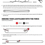 How to Make Your Own Lightsaber (Infographic) 05