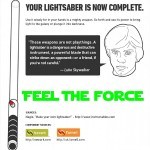How to Make Your Own Lightsaber (Infographic) 06
