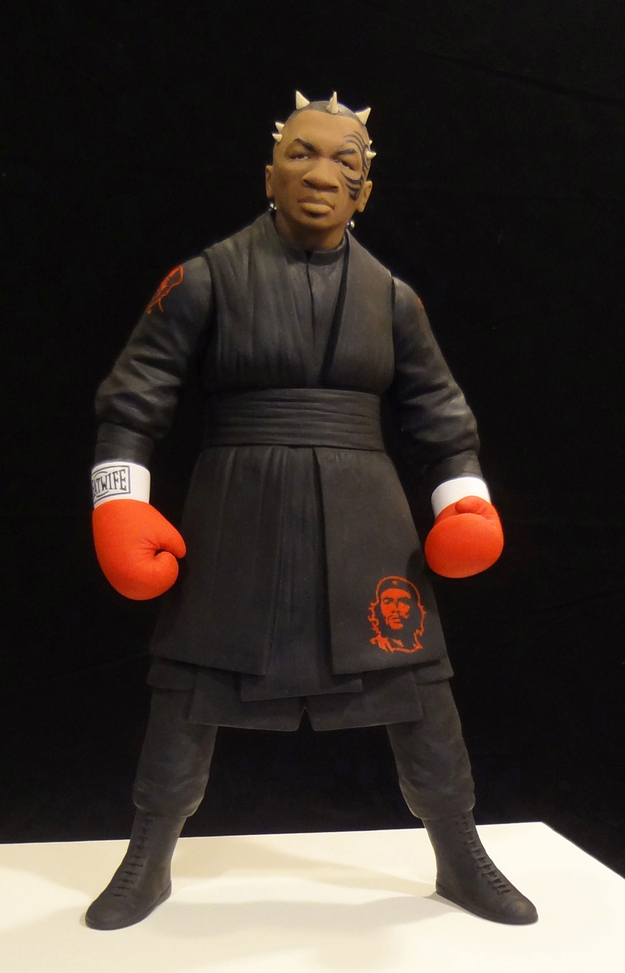 Mike Tyson as Darth Maul