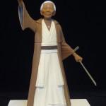 Nelson Mandela as Obi-Wan Kenobi