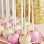 Pink Champagne Cake Pops