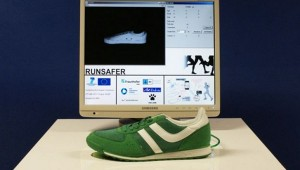 RUNSAFER Smartphone-Assisted Running Shoes