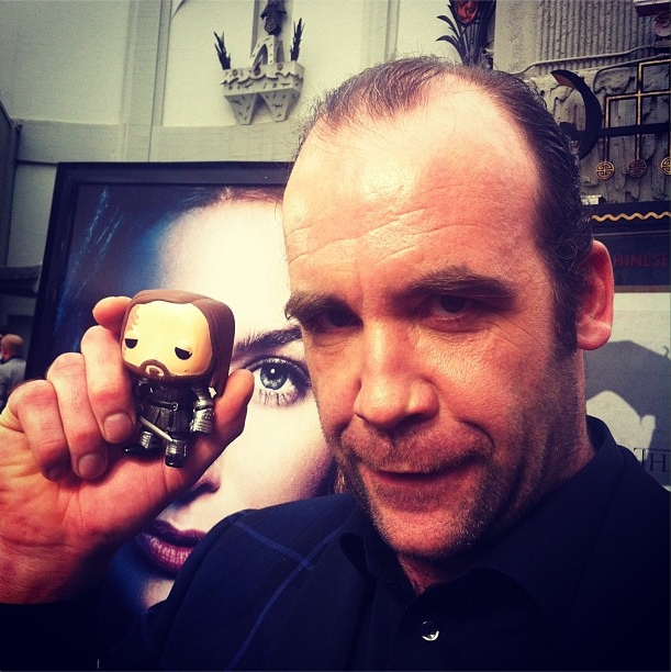 Rory McCann with The Hound