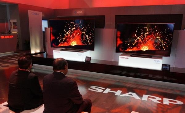 Sharp TV image