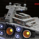 Star Wars Imperial Star Destroyer Model 4