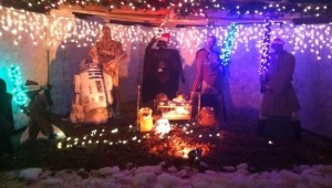 Star Wars Nativity Scene