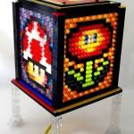 Super Mario Block Mosaic LEGO Lamp 01