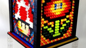 Super Mario Block Mosaic LEGO Lamp 01
