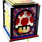 Super Mario Block Mosaic LEGO Lamp 03
