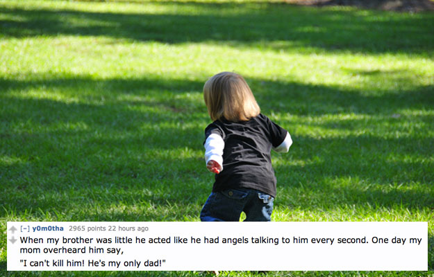 The Kid who spoke with angels