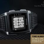 Tokyoflash Kisai Rorshach E-Paper Watch 2
