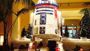White Chocolate R2-D2