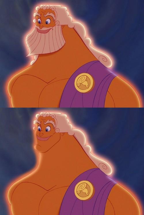 Zeus From Hercules
