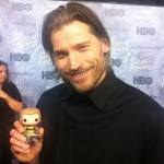 Nikolaj Coster-Waldau with Jaime Lannister
