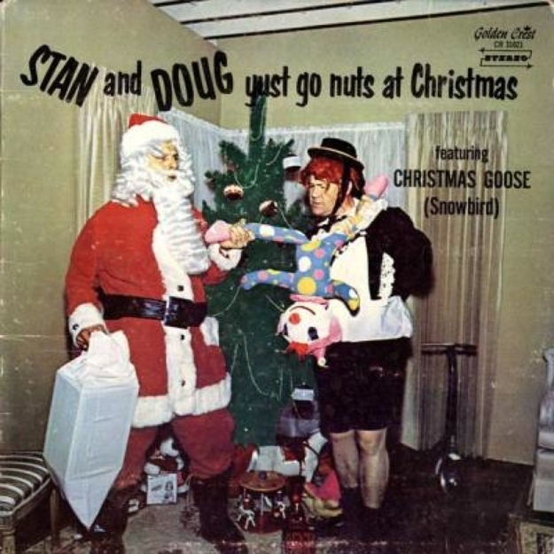 Stan and Doug Yust Go Nuts at Christmas