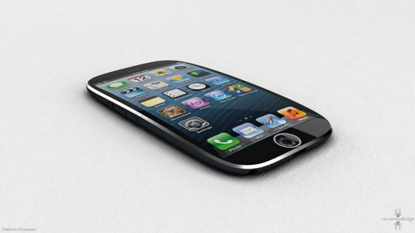 iPhone Curved screen image