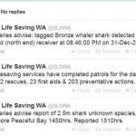 Australian Sharks – Twitter
