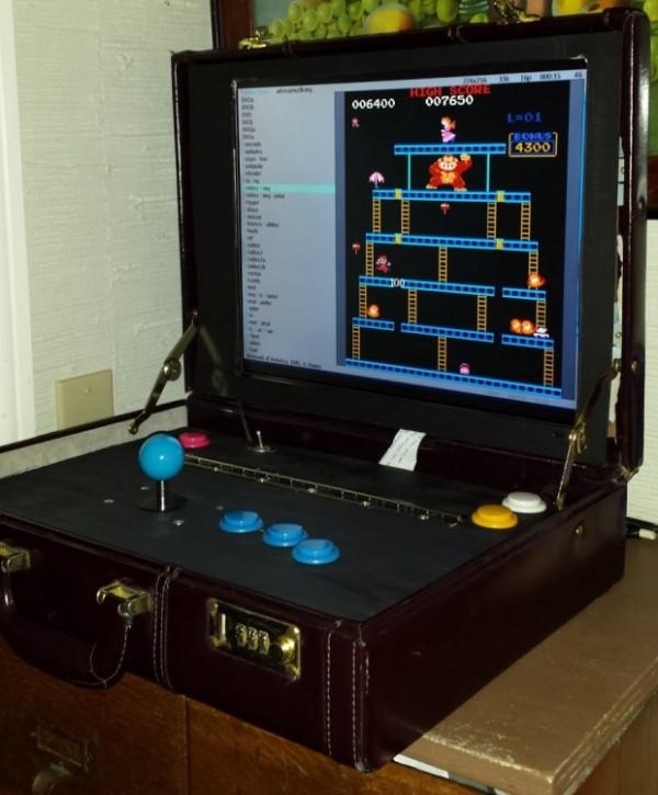 Briefcase arcade machine by Travis Reynolds image 1