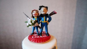 Fallout Wedding Cake