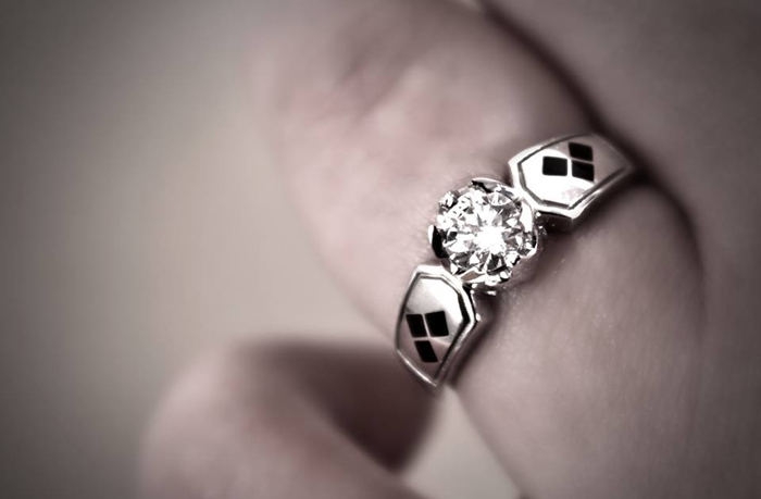 Harley Quinn Wedding Ring