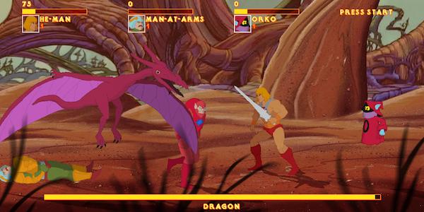 He-Man 1983 cartoon game image 2