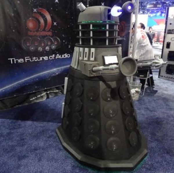 Annoying Dalek Packs The World S Loudest Bluetooth Speaker