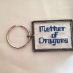 Mother of Dragons Keychain