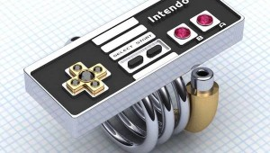 NES Controller Promise Ring by Paul Michael Design image