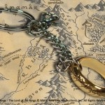 One ring keychain