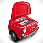 SMEG Fiat 500 Fridge 01