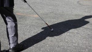 Smartphone App - Haptic Feedback - Virtual Cane for the Blind 2