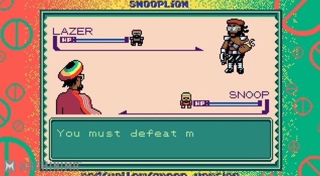 Snoop Lion Major Lazer Pokemon