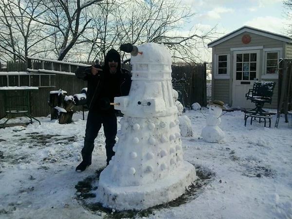 Snowman Dalek 1