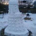Snowman Dalek 3