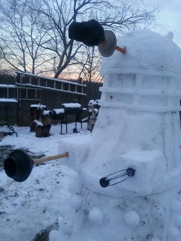 Snowman Dalek 5