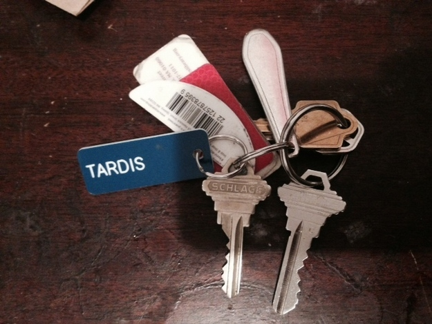 The keys to the Tardis