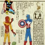 avengers-hyeroglyphics