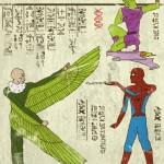 spiderman-Hyeroglyphics