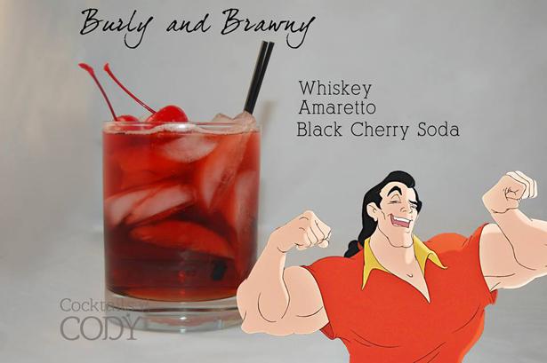 Disney Cocktails Gaston