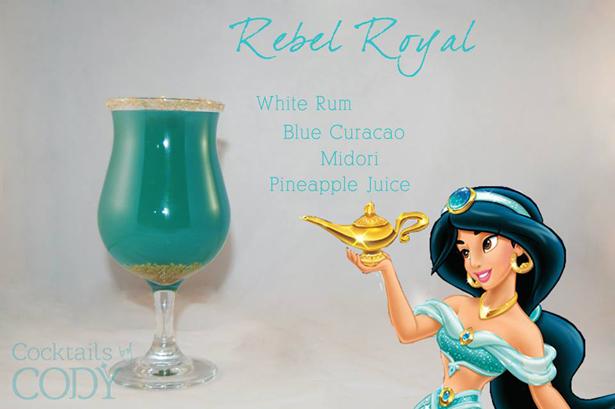 Disney Cocktails Jasmine