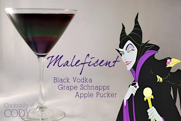Disney Cocktails Maleficent