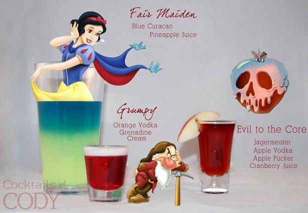 Disney Cocktails Snowwhite