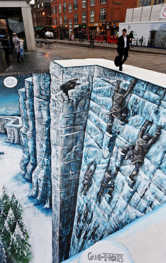 Game of Thrones The Wall 3d 1